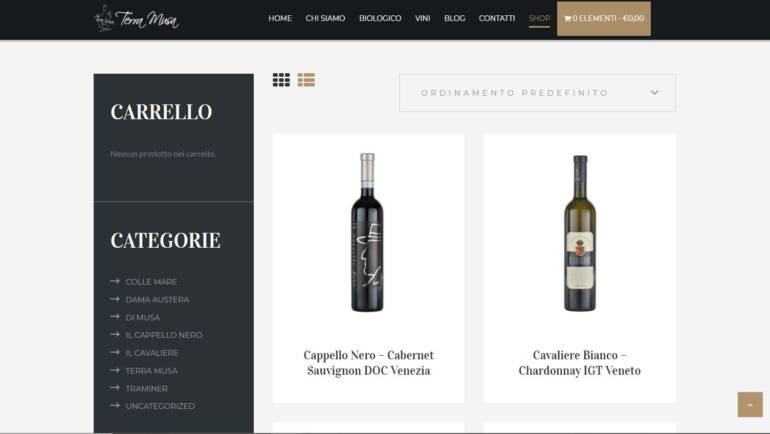 TerraMusa è online con il suo nuovo shop!